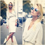 NEW POST!!! : www.indiasinsights.com WHITE IS THE NEW BLACK @lovelessbijoux  #look #indiasinsights