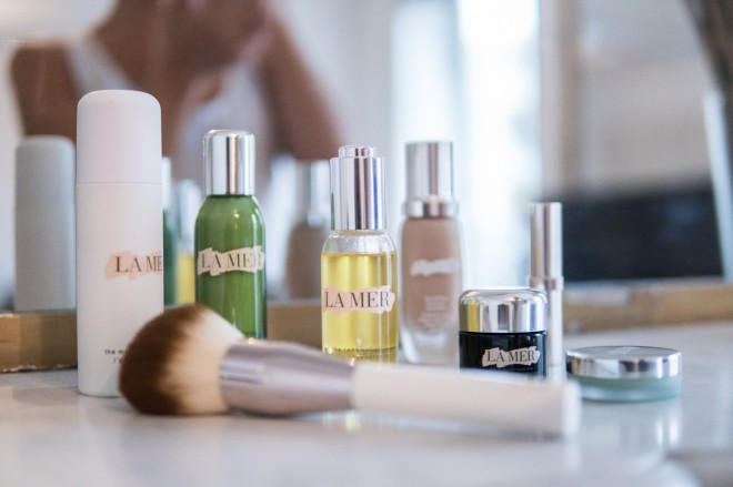 my daily routine with la mer